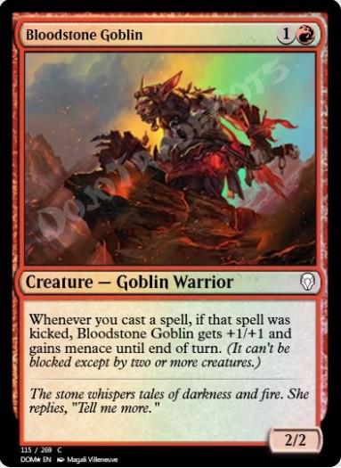 Bloodstone Goblin FOIL