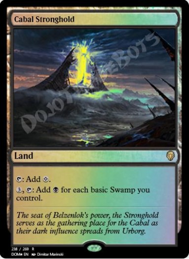 Cabal Stronghold FOIL