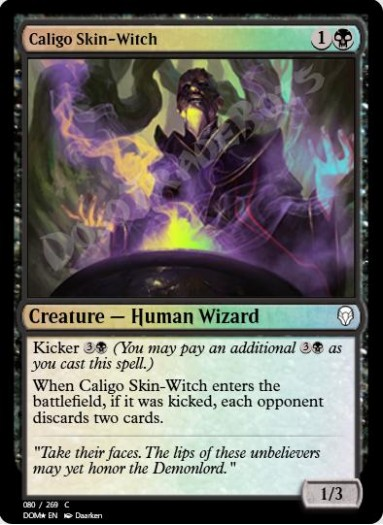 Caligo Skin-Witch FOIL