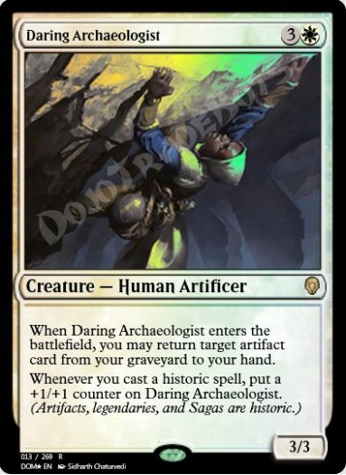 Daring Archaeologist FOIL