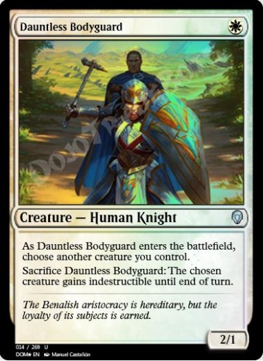 Dauntless Bodyguard FOIL