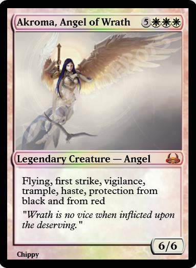Akroma, Angel of Wrath FOIL