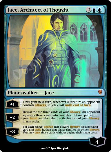 Jace, Architect of Thought FOIL