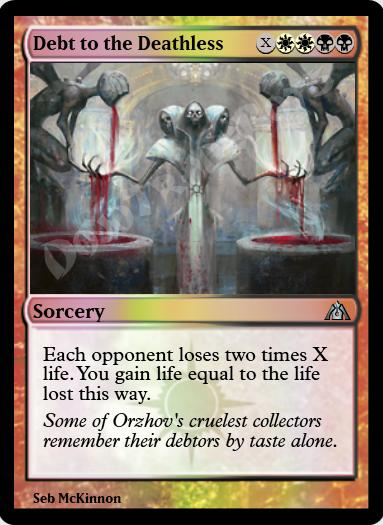 Debt to the Deathless FOIL