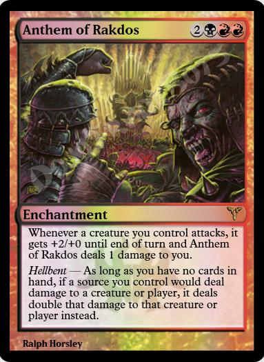 Anthem of Rakdos FOIL