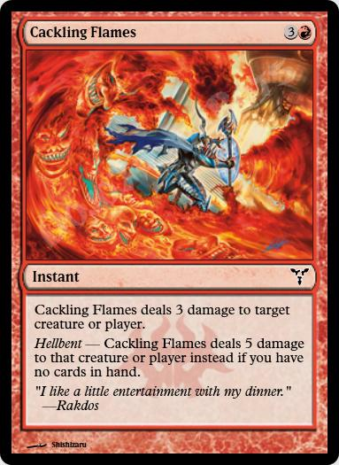 Cackling Flames