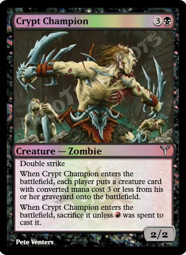 Crypt Champion FOIL