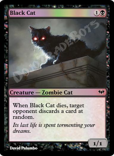 Black Cat FOIL