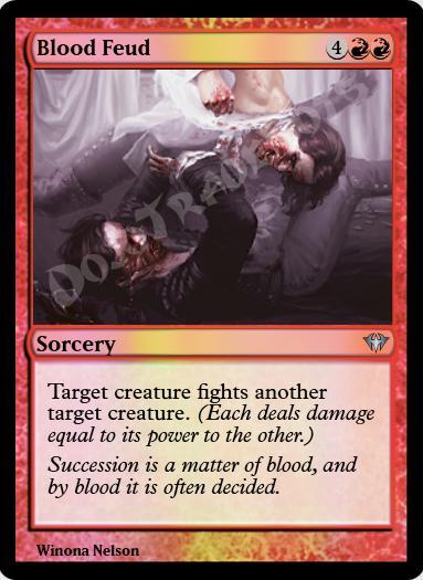 Blood Feud FOIL
