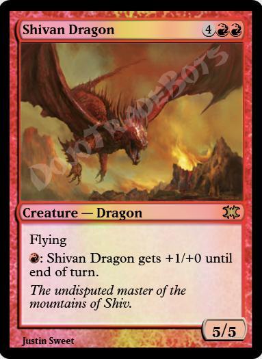 Shivan Dragon FOIL