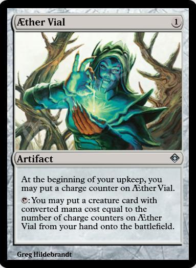Aether Vial FOIL