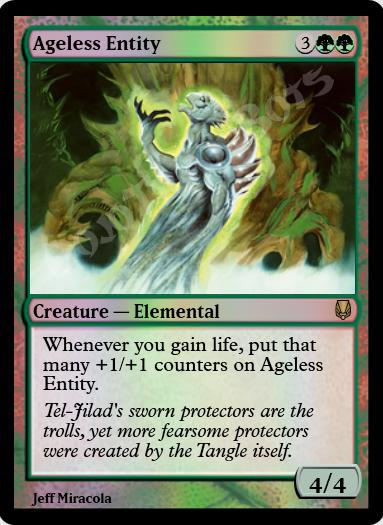 Ageless Entity FOIL