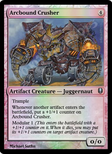 Arcbound Crusher FOIL