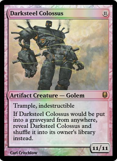 Darksteel Colossus FOIL