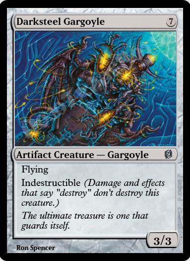 Darksteel Gargoyle FOIL