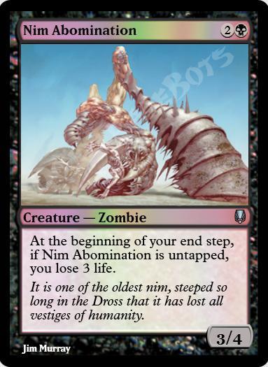 Nim Abomination FOIL