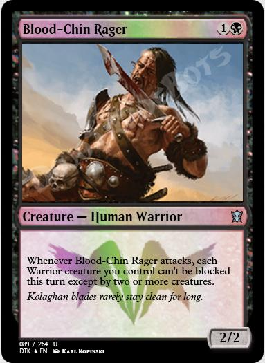 Blood-Chin Rager FOIL
