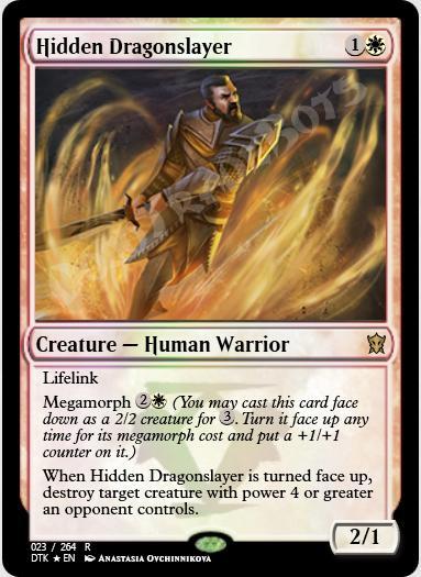 Hidden Dragonslayer FOIL