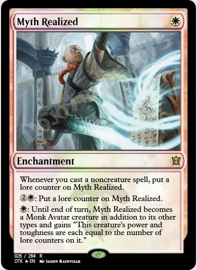 Myth Realized FOIL