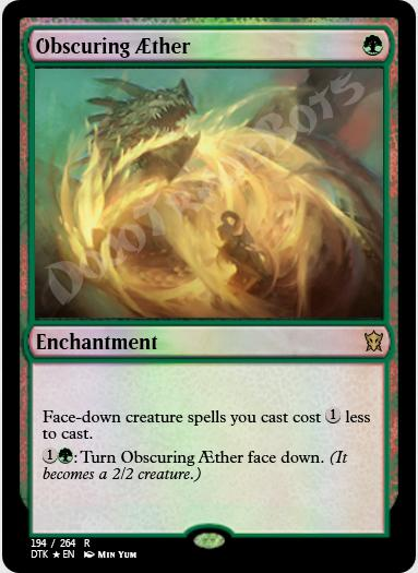 Obscuring Aether FOIL