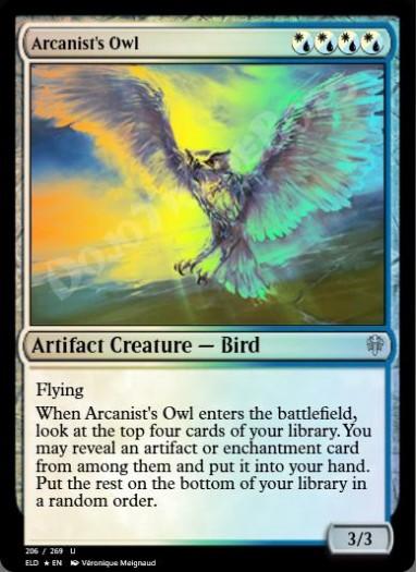 Arcanist's Owl FOIL