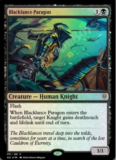 Blacklance Paragon FOIL