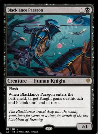 Blacklance Paragon