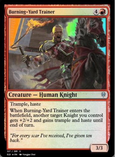 Burning-Yard Trainer FOIL