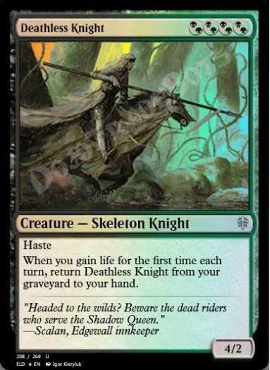 Deathless Knight FOIL