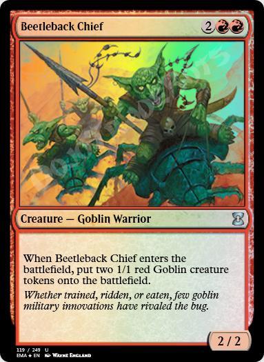 Beetleback Chief FOIL