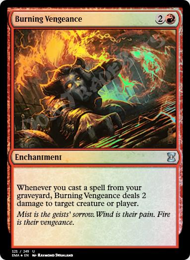 Burning Vengeance FOIL