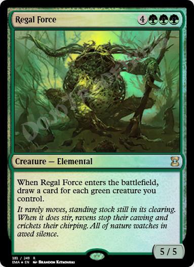 Regal Force FOIL