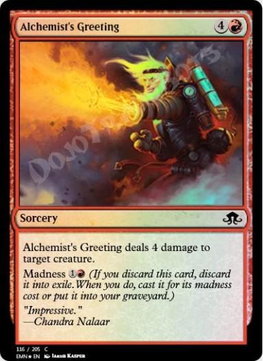 Alchemist's Greeting FOIL
