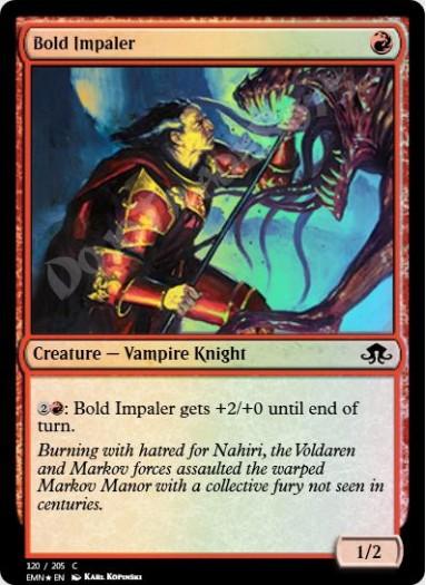 Bold Impaler FOIL