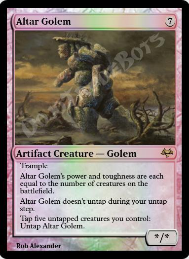 Altar Golem FOIL