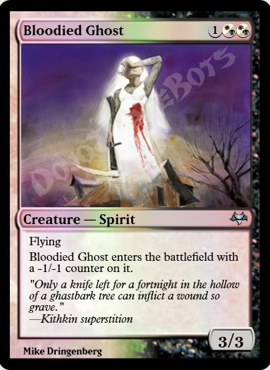 Bloodied Ghost FOIL