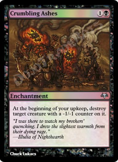 Crumbling Ashes FOIL