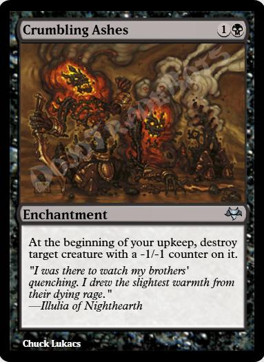 Crumbling Ashes