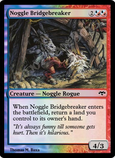 Noggle Bridgebreaker FOIL