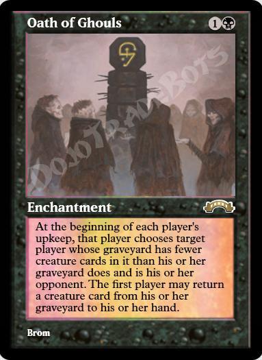 Oath of Ghouls FOIL