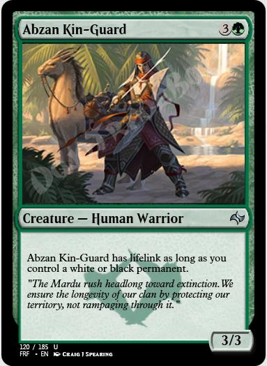Abzan Kin-Guard