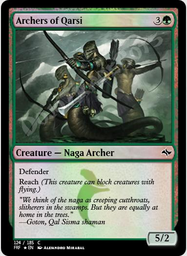 Archers of Qarsi FOIL