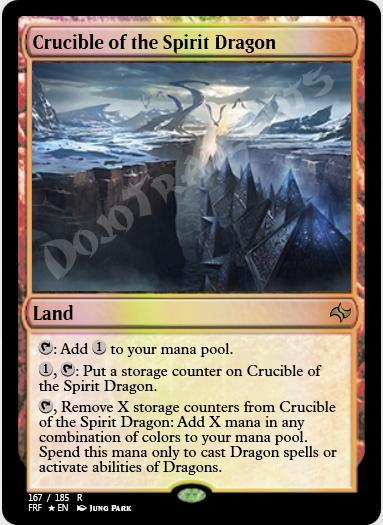 Crucible of the Spirit Dragon FOIL