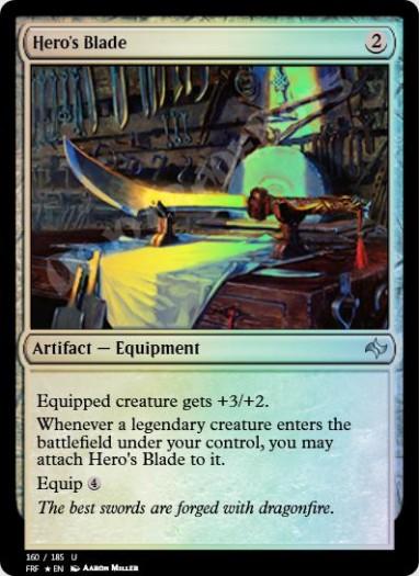 Hero's Blade FOIL