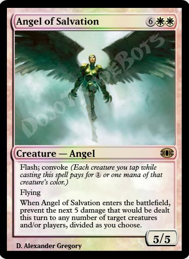 Angel of Salvation FOIL
