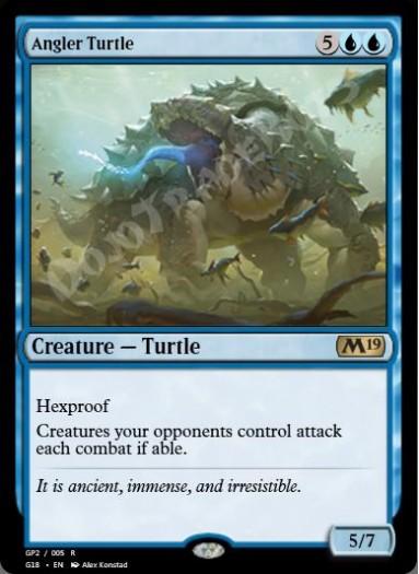 Angler Turtle