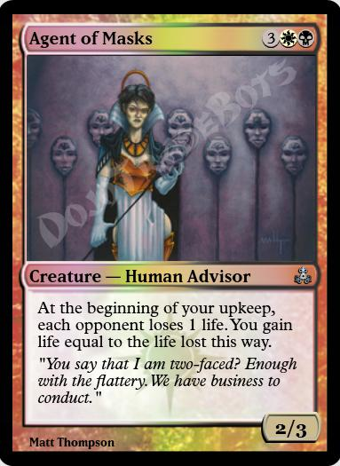 Agent of Masks FOIL