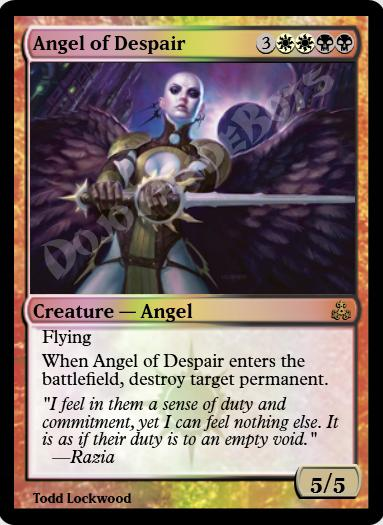 Angel of Despair FOIL