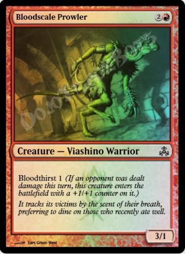 Bloodscale Prowler FOIL