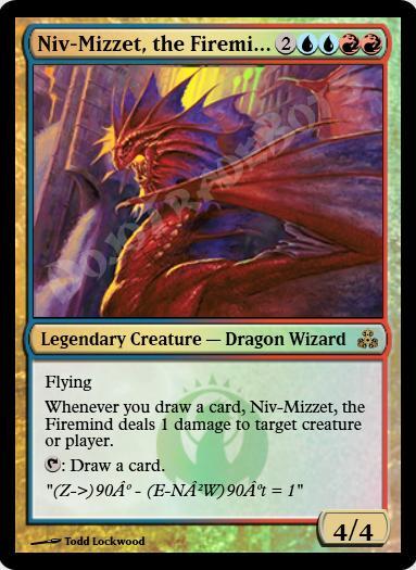 Niv-Mizzet, the Firemind FOIL